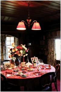 Dame Ngaio Marsh's sumptuous dining table
