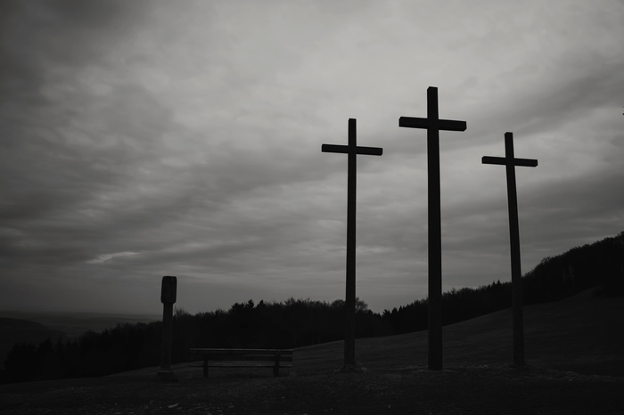 the three crosses by Björn Reibert Rhön